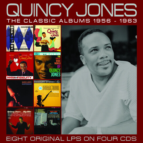 The Classic Albums 1957-1963 (Quincy Jones) (CD / Box Set)