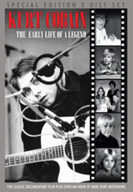 Kurt Cobain: The Early Life of a Legend (DVD / with CD)