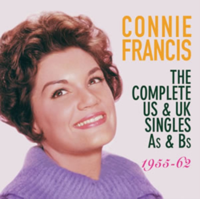 The Complete US & UK Singles As & Bs (Connie Francis) (CD / Album)