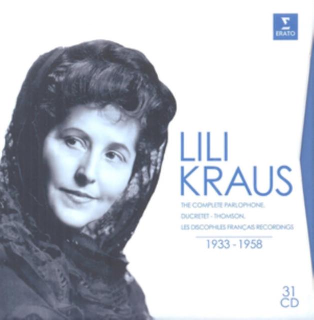 Lili Kraus: The Complete Parlophone, Ducretet-Thomson &... (CD / Box Set)