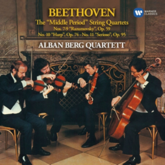 Beethoven: The 'Middle Period' String Quartets (CD / Album)