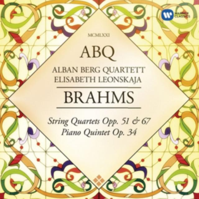 Alban Berg Quartett/Elisabeth Leonskaja: Brahms (CD / Album)