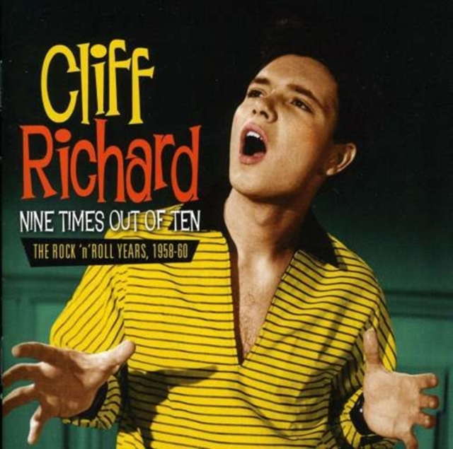 Nine Times Out Of Ten Rocknroll Years (Cliff Richard) (CD / Album)