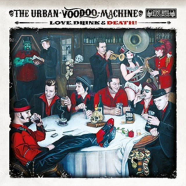 Love, Drink & Death (The Urban Voodoo Machine) (CD / Album)