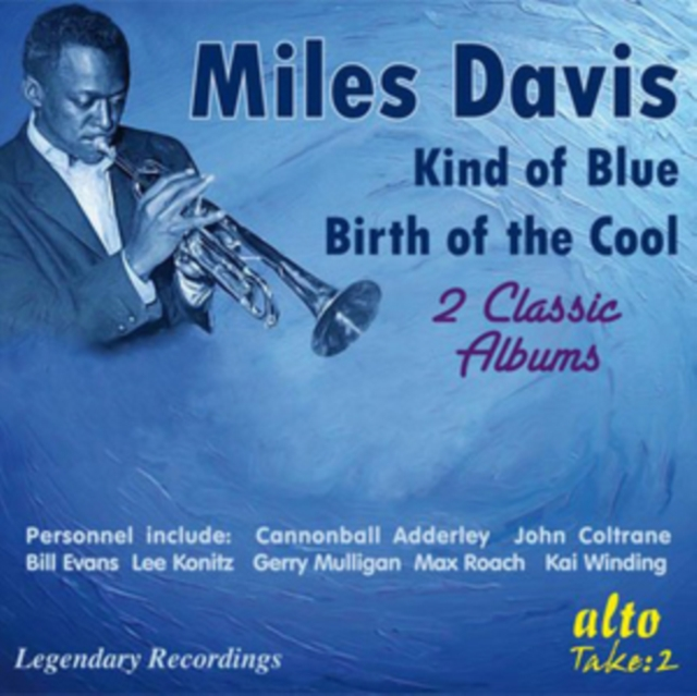 Kind of Blue/Birth of the Cool (Miles Davis) (CD / Album)