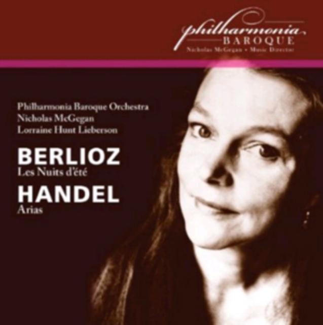 Berlioz: Les Nuits D'ete/Handel: Arias (CD / Album)