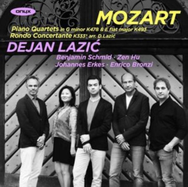 Mozart: Piano Quartets in G Minor, K478 & E Flat Major, K493/... (CD / Album)