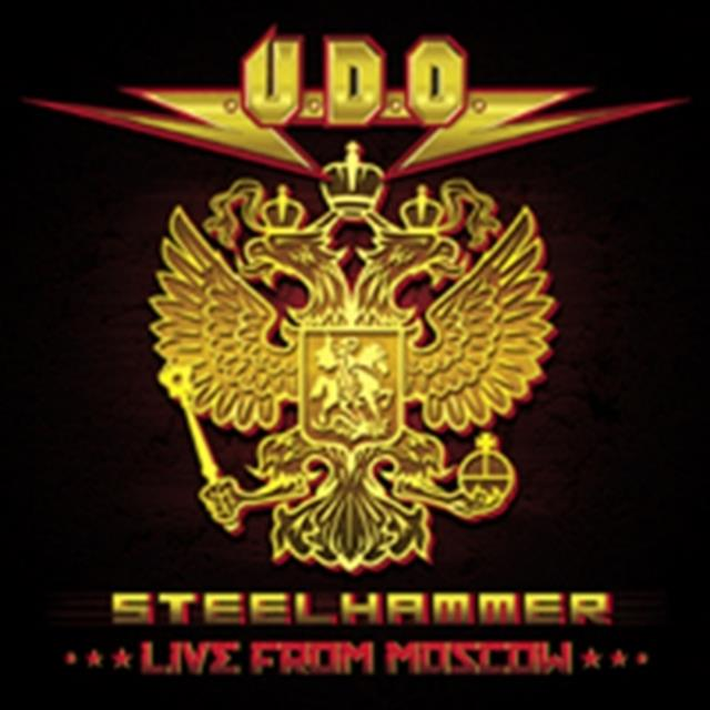 STEELHAMMER - LIVE FROM MOSCOW (DVD+2CD) (U.D.O.) (CD / Album)