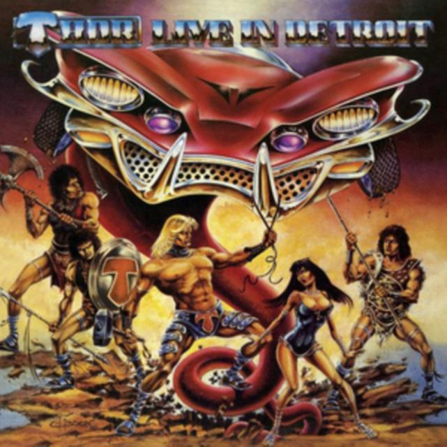 Live in Detroit (THOR) (CD / Album with DVD)