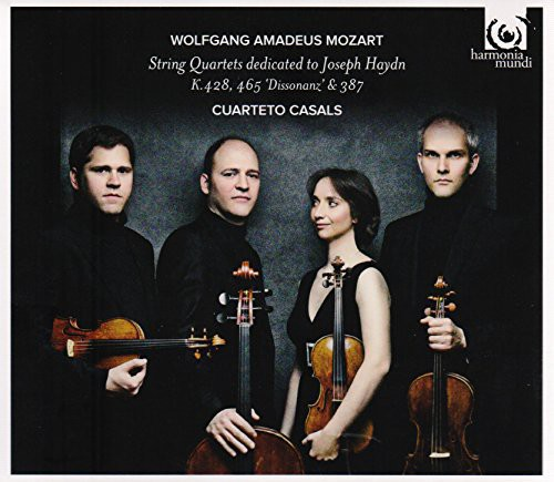 Wolfgang Amadeus Mozart: String Quartets... (CD / Album)