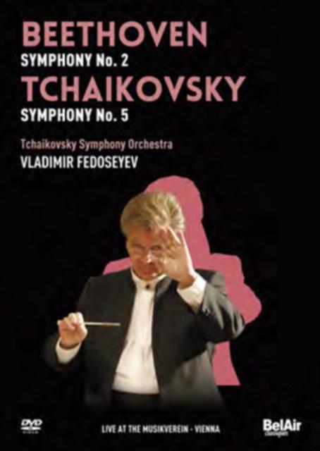 Beethoven/Tchaikovsky: Symphony No. 2/Symphony No. 5 (Fedoseyev) (DVD)