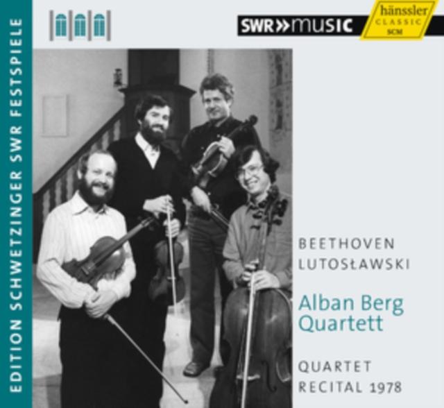 Alban Berg Quartett: Quartet Recital 1978 (CD / Album)