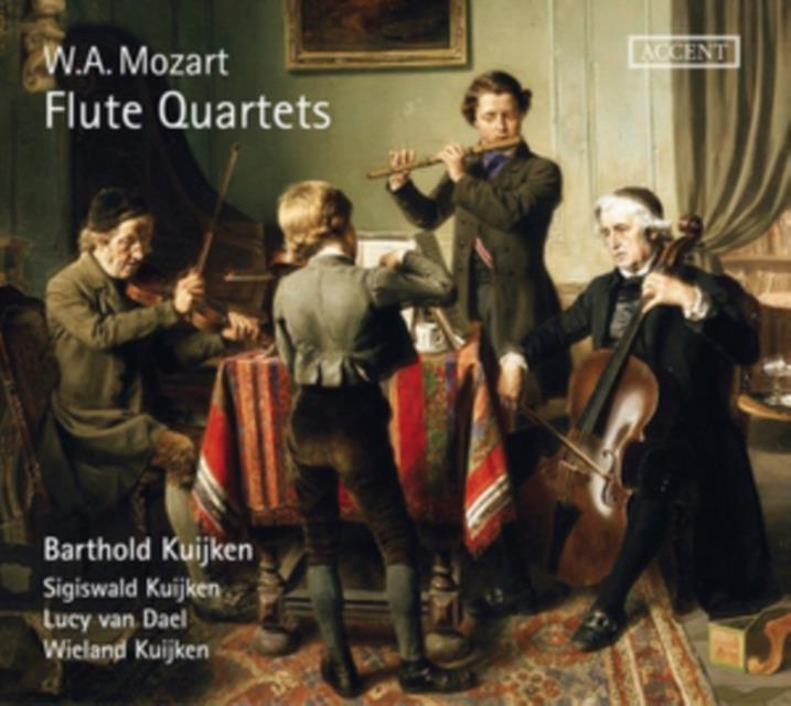 W.A. Mozart: Flute Quartets (CD / Album Digipak)