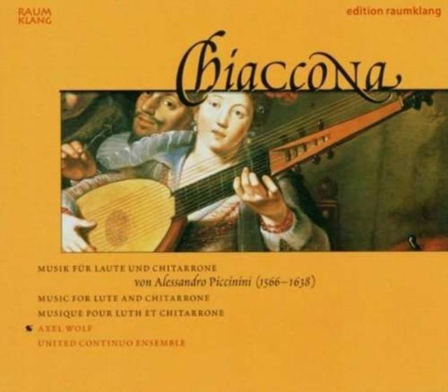 Music for Lute and Chitarrone (United Continuo Ensemble) (CD / Album)