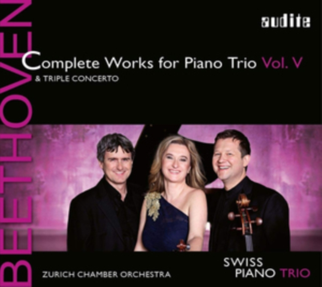 Beethoven: Complete Works for Piano Trio & Triple Concerto (CD / Album)