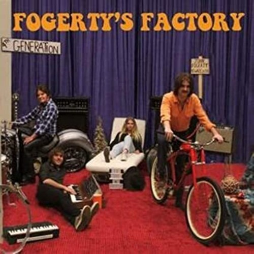 Fogerty's Factory (John Fogerty) (CD / Album)