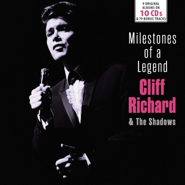 Milestones of a Legend (Cliff Richard and The Shadows) (CD / Box Set)