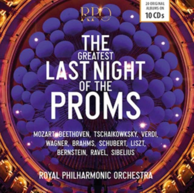 The Greatest Last Night of the Proms (CD / Box Set)