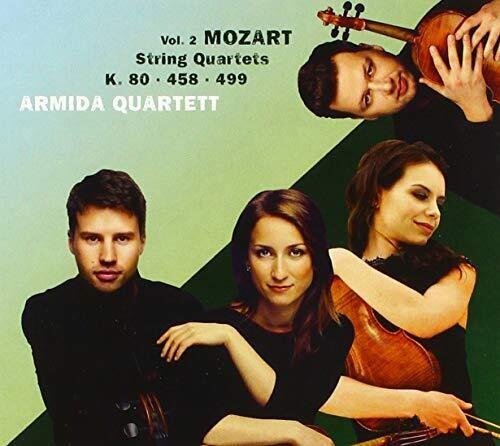 Mozart: String Quartets, K.80, 458, 499 (CD / Album)