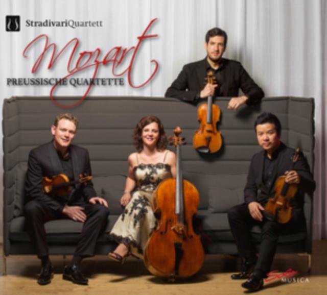 Mozart: Freussische Quartets (CD / Album)