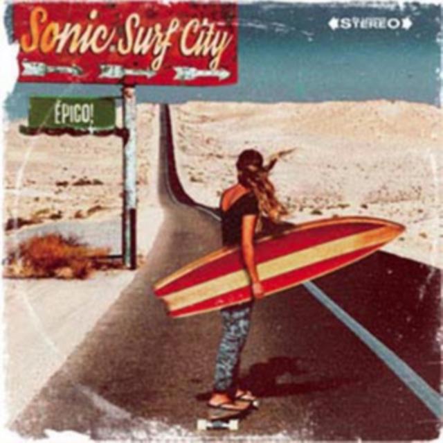Epico! (Sonic Surf City) (CD / Album Digipak)