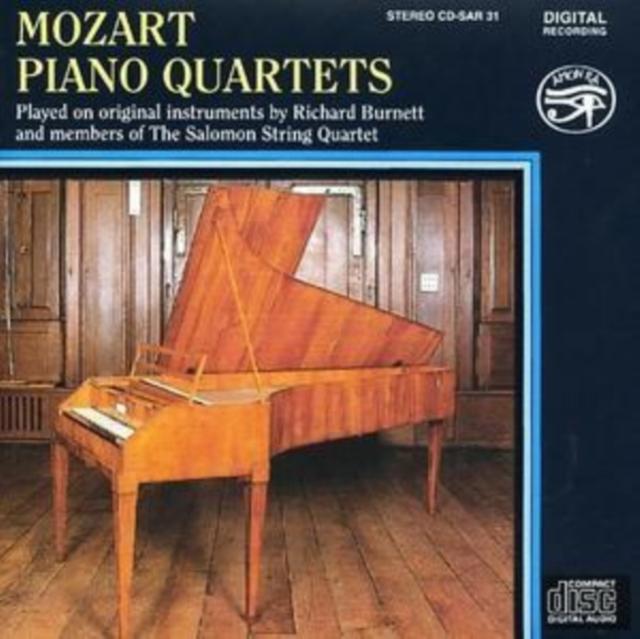 Mozart: Piano Quartets (CD / Album)
