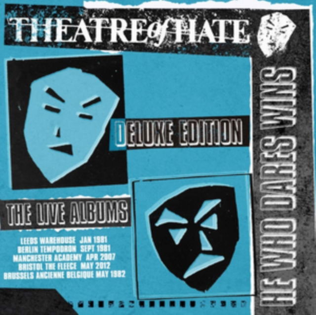He Who Dares Wins: Deluxe (Theatre of Hate) (CD)