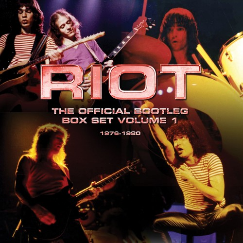 Riot - The Official Bootleg Box Set Volume 1 - 1976-1980 (The Riot) (CD)
