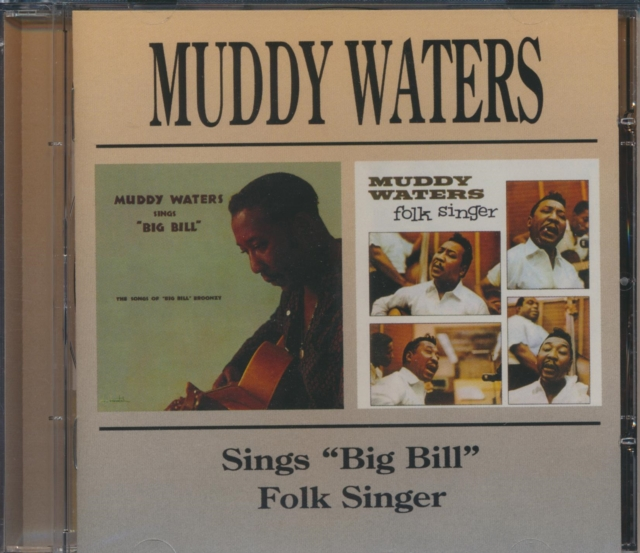 Sings 'Big Bill'/Folk Singer (Muddy Waters) (CD / Album)