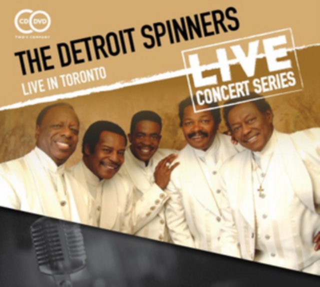 Live in Toronto (The Detroit Spinners) (CD / Album with DVD)