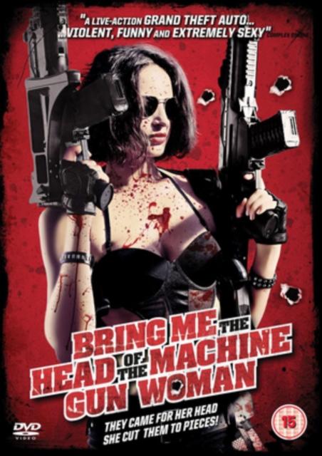 Bring Me the Head of the Machine Gun Woman (Ernesto Daz Espinoza) (DVD)