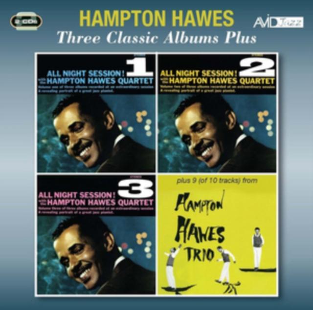 Levně Three Classic Albums Plus (Hampton Hawes) (CD / Album)