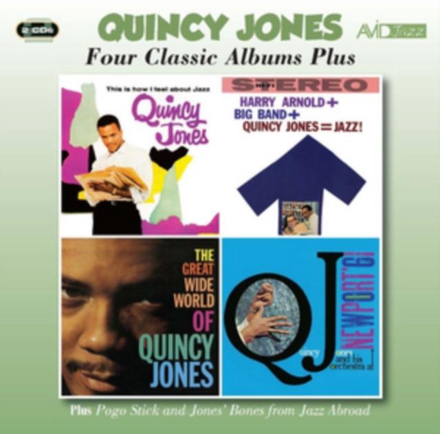 Four Classic Albums Plus (Quincy Jones) (CD / Album)