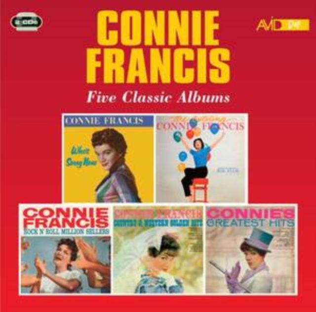 Five Classic Albums (Connie Francis) (CD / Album)