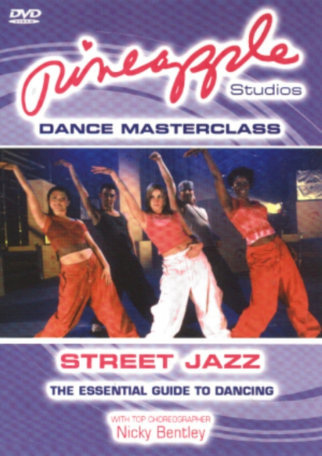 Pineapple Studios Dance Masterclass: Street Jazz (DVD)