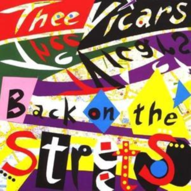 Back On the Streets (Thee Vicars) (CD / Album)