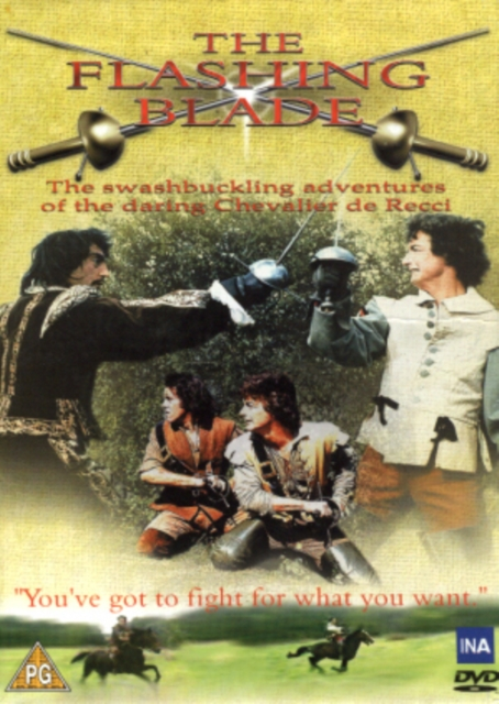 Flashing Blade: The Entire Series - Episodes 1-12 (Yannick Andrei) (DVD)