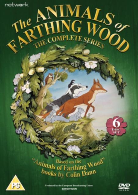 Animals of Farthing Wood: The Complete Series (DVD / Box Set (Slimline Version))