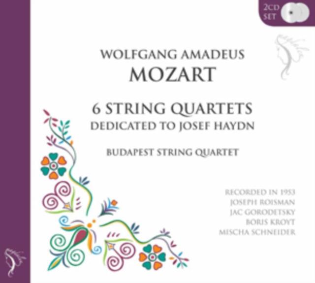 Wolfgang Amadeus Mozart: 6 String Quartets... (CD / Album)