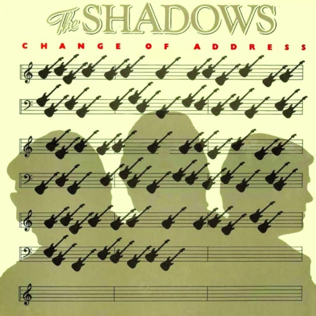 Change of Address (The Shadows) (CD / Album)
