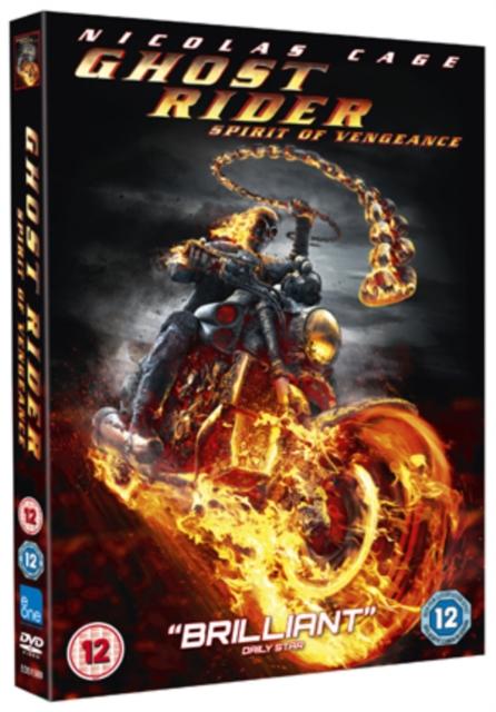 Ghost Rider: Spirit of Vengeance (Mark Neveldine;Brian Taylor;) (DVD)
