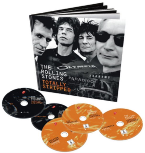 Rolling Stones: Totally Stripped (DVD / with CD)
