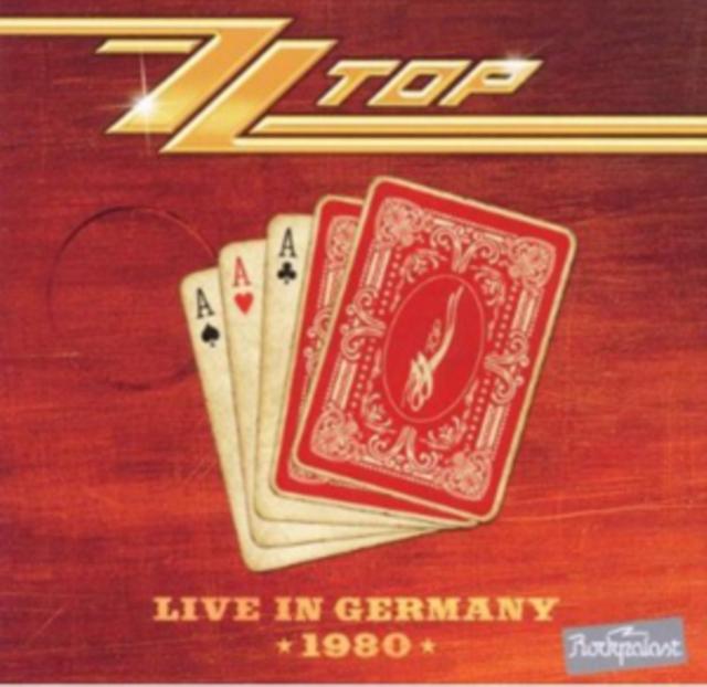 Live in Germany 1980 (ZZ Top) (CD / Album)