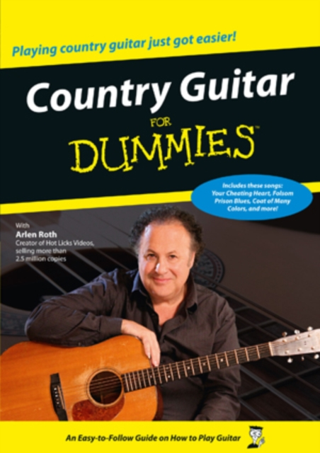 Country Guitar for Dummies (DVD)