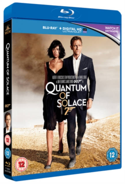 Quantum of Solace (Marc Forster) (Blu-ray / with Digital HD UltraViolet Copy)