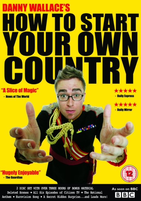 How to Start Your Own Country (Lee Philips) (DVD / Box Set)