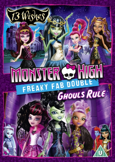 Monster High: 13 Wishes/Ghouls Rule (DVD)