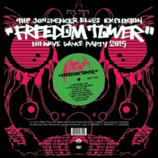 Freedom Tower (The Jon Spencer Blues Explosion) (CD / Album Digipak)