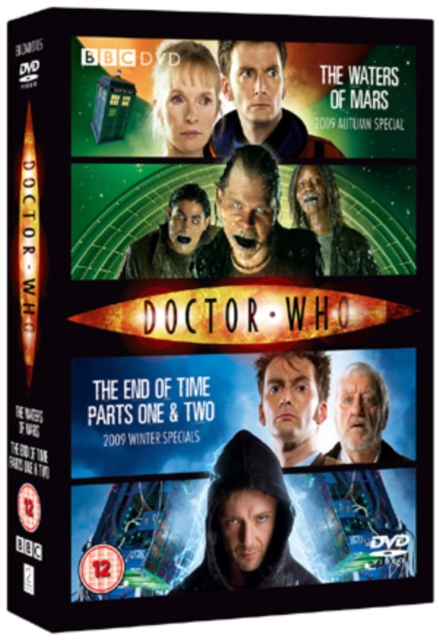 Doctor Who: The Waters of Mars/The End of Time (Graeme Harper;Euros Lyn;) (DVD / Box Set)