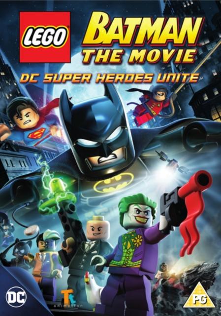 LEGO Batman - The Movie - DC Super Heroes Unite (Jon Burton) (DVD)